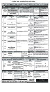 PPSC Advertisement in PDF Advt No.16 2021 pdf