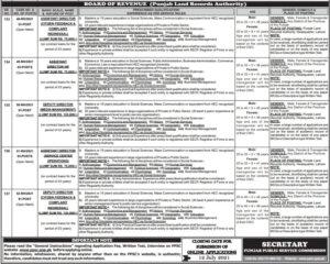 PPSC Jobs 2021 Advertisement No. 18 Punjab Public Service Commission Jobs