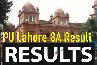 PU BA Result 2021 Punjab University Check Online Result 2021