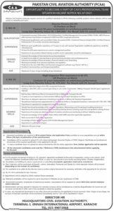 Pakistan Civil Aviation Aithority PCAA Jobs 2021 for Director Finance