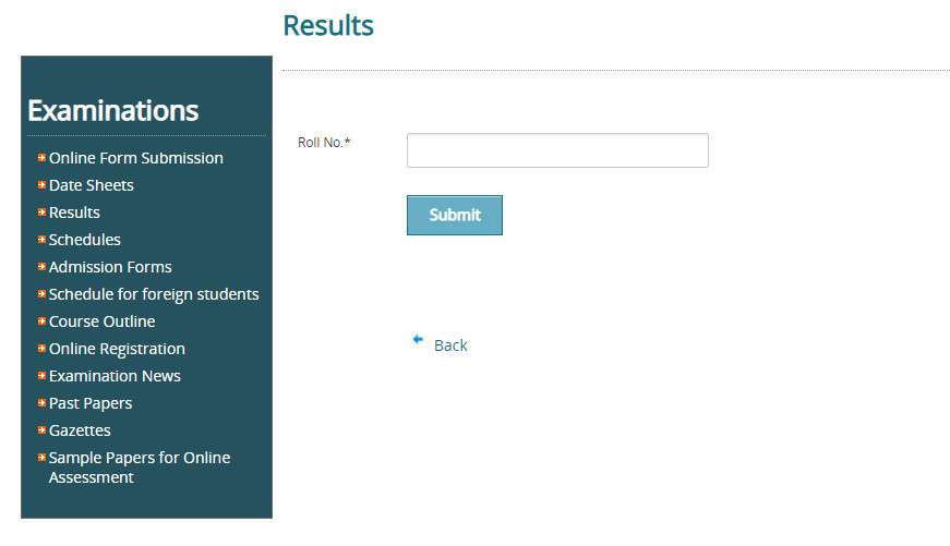 Punjab University Lahore BA Result 2021 Check Online
