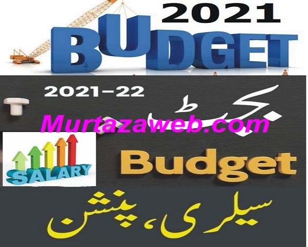 Salary Increase in Budget 2021-22 Pakistan Pay and Pension Increase in Budget 2021-22