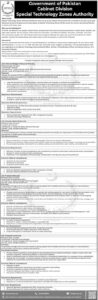 Special Technology Zones Authority STZA Jobs June 2021 in Islamabad