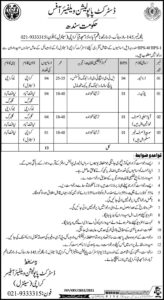 District Population Welfare Department Sindh Jobs 2021 Driver, Chowkidar Jobs
