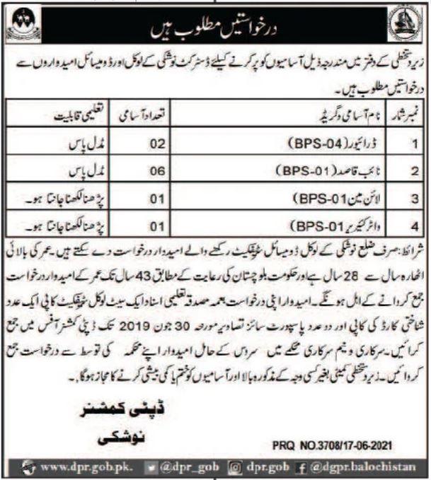 Khyber Medical University KMU Peshawar Jobs 2021